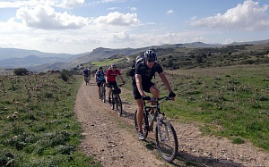 bike warm up Sizilien Mountainbiken