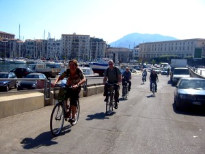 Palermo by bike